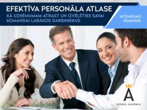 Efektīva personāla atlase